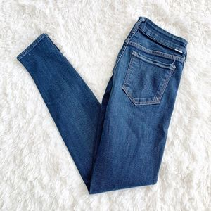 Mother Jeans | The Looker Skinny Leg Soapstone 28